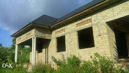 Shell house in sonde at 250m on 50decimals four bedrooms quick sale