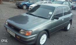Toyota starlet, used