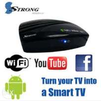 Strong srtan4m Android TV box, negotiable we seal the deal