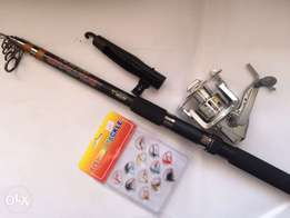 Fishing Stick and spinning Reel
