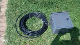 Meterbox and 35 meters long airdeck Cable