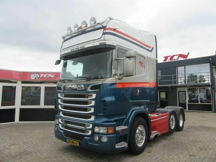 Scania R 730 6x2 Tracter Unit Topline Cabine - 2011