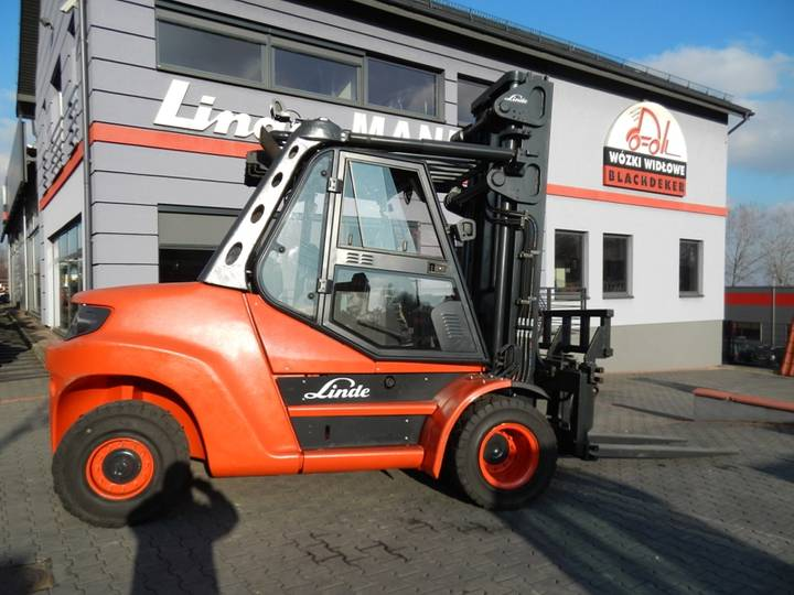 Linde H80D/900 Side shift - 2014