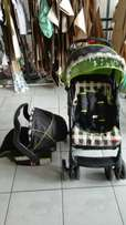 Chelino pram and car seat system for sale