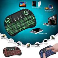 Backlight Mini i8 Wireless Keyboard 2.4GHz Air Mouse Remote Control To