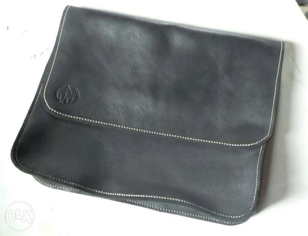 Genuine leather satchel, phone pouch and tablet pouch Ilorin - image 1