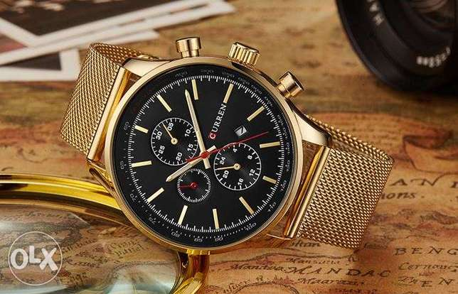 CURREN New Gold Quartz Watches Surulere - image 1