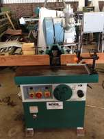 Spindle Moulder, WOODMAN, with Sliding Table, 3.7 kW, 5-speed