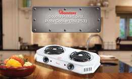 Double Plate Spiral Cooker - Half Price