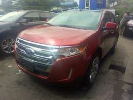 Custom cleared Ford Edge on board