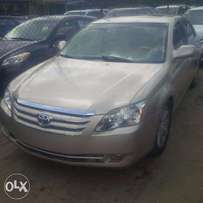 Tincan Cleared Tokunbo, Toyota Avalon, 2007. Key-less Entry, Very OK