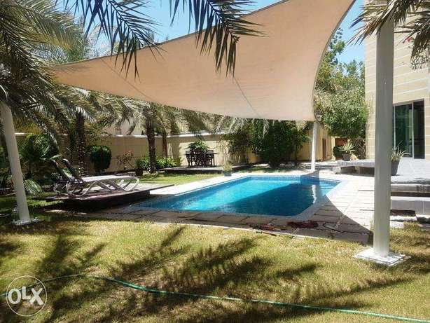 Modern 3 Bedroom Furnished/semi Villa With Garden&pool