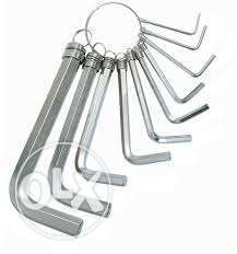 Hex Key Wrench Spanners Set, GH031259