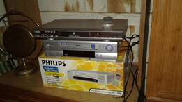 1 DVD player, 2 video machines faulty