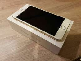 64GB IPhone 6s plus Gold Brand new with warranty and Accessories