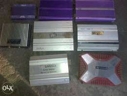 Amplifiers various for car sound