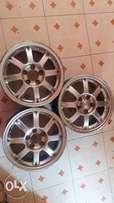 Used Sporty alloy rims