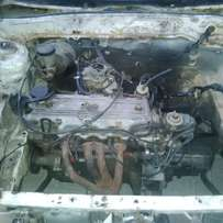 Ford/mazda 323 E5 engine and gearbox for sale