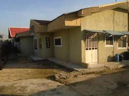 FOR SALE: A bungalow of 3 bedroom and 2 self contain with a 1 bedroom
