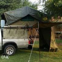 Eco rooftop tent and canopy