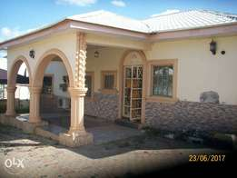 3bdrm detached bungalow with bq for sale in Lokogoma.