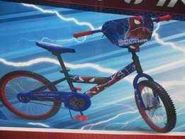 brand new bicycle 20inches BMX (THE AMAZING SPIDER-MEN 2..R900.00
