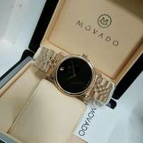 Movado Rose Gold Plated.