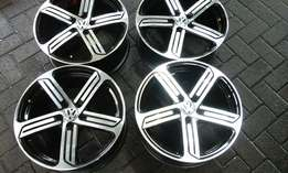 "17"" mags Golf R line replica suitable for polo golf and many other car"
