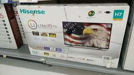 Brand new 50 inch Hisense 4K TV with warranty
