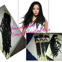 Amakiss collections.. Crochet natural locs
