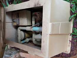 Jacuzzi and pump for sale