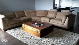 Bakos Brothers suede couch