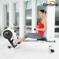 Fairly used commercial EUNSUNG rowing machine.