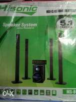 Brand new Hisonic home theater system MS-8010