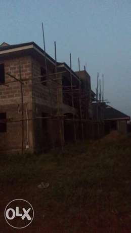 Uncompleted 5nos of 2br flat at Aboru, harmony estate Alimosho - image 2