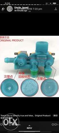 All types of washing machine pumps available
