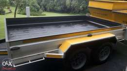 low Bed Axel Trailer for sale