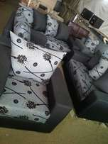 Seven Seater Fabric Living Room Set