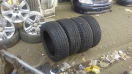 the tyre is size is 225/55/17