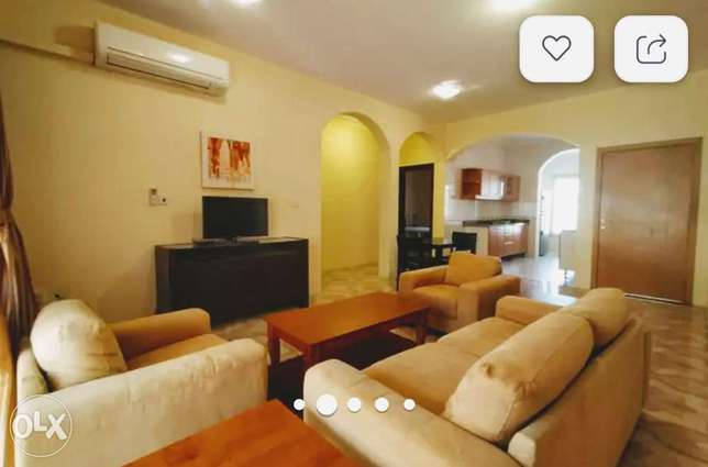 Fully furnished 2 Bhk Villa Apartment With Nice Balcony !