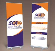 Spread your message with our high quality roll up banner stands