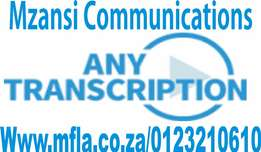 Translation and transcription services in South Africa