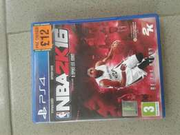 NBA2k16 for sell