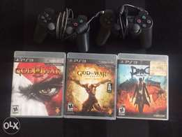 Ps3 pad and 3 Games