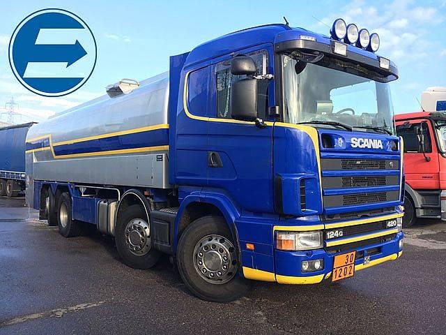Scania R124GB8x2 Tank für Treibstoffe - 1999