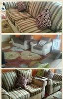 Reupholstery in kenya. We do full seat repairs in clients` home