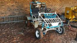 Off-road go-kart for sale with brand new trailer