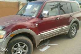 Clean Mitsubishi Montero is for sale