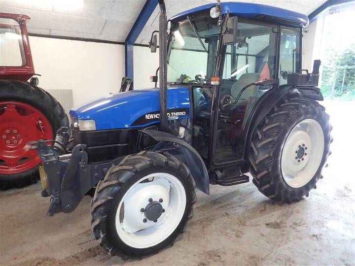 New Holland Tn55d M/frontlif-pto 941 Timer - 2000