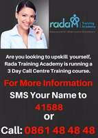 3 Day Call Centre Training course - Book Now - We based in Randburg